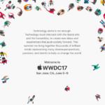 Apple rozeslal tiskové pozvánky na konferenci WWDC 2017