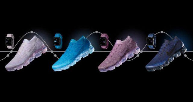 Nike představil nové Apple Watch náramky společně s odpovídajícími běžeckými botami