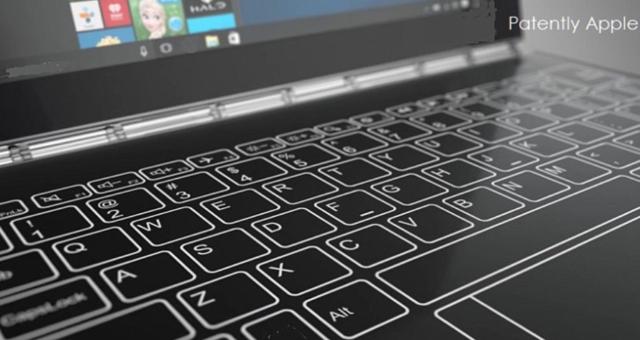 Apple stále prozkoumává možnost virtuálních klávesnic u MacBooků