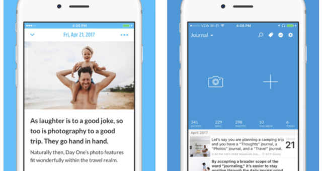 Aplikace týdne: One Day Journal