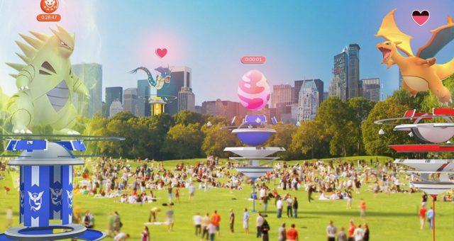 Ve hře Pokémon GO jsou právě přepracovávány tzv. gymy a bojování s novými předměty, útočnými funkcemi a další