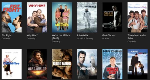 Interstellar, The Departed a další iTunes filmy jsou nyní zlevněné