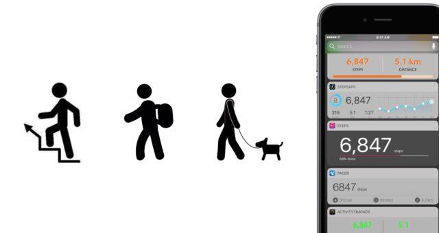 Jedny z nejlepších aplikací pro zaznamenávání kroků