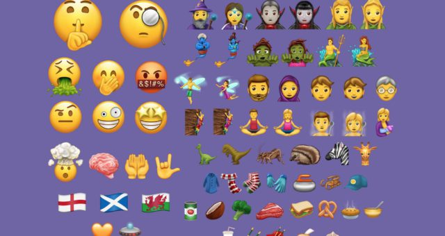 Unicode 10 přinese 56 nových emoji