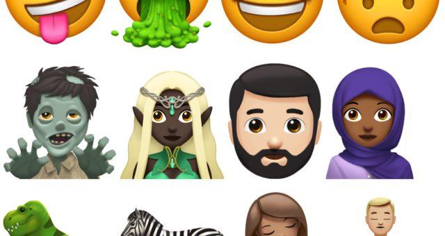 Podívejte se na některé nové emoji, které se objeví později tohoto roku v iPhonu, iPadu, Macu a Apple Watch