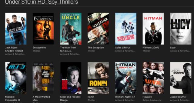 A Monster Calls, SE7EN a další iTunes filmy jsou nyní zlevněné