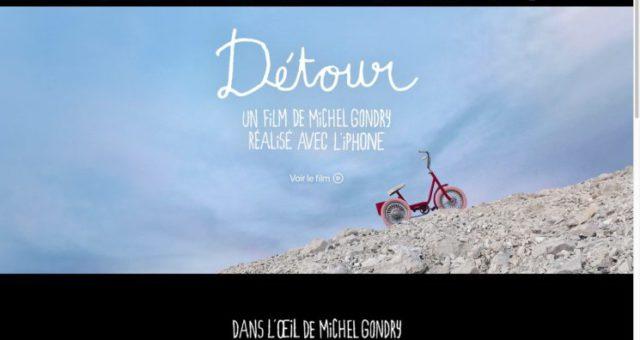 """Apple sdílel pro kampaň """"Shot on iPhone"""" krátkou """"Détour"""" natočenou režisérem Michel Gondry"""