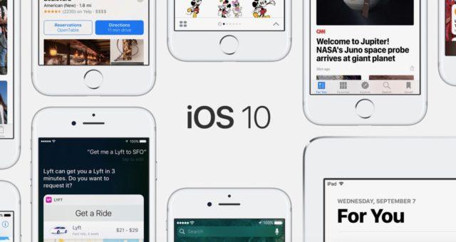 Apple vydal aktualizaci iOS 10.3.3 pro iPhone a iPad