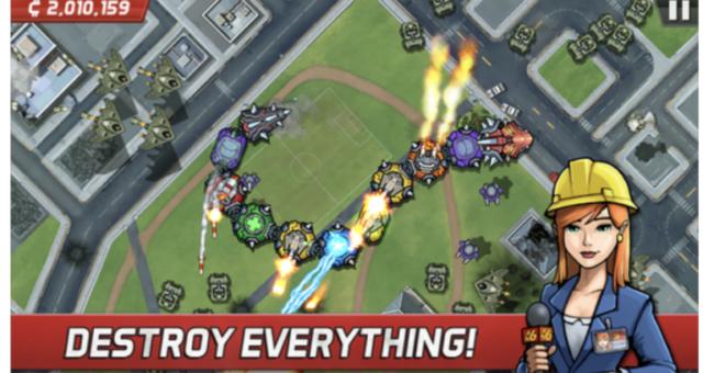 Hra Colossatron: Massive World Threat se stala novou aplikací týdne