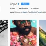 Apple spustil vlastní Instagram účet