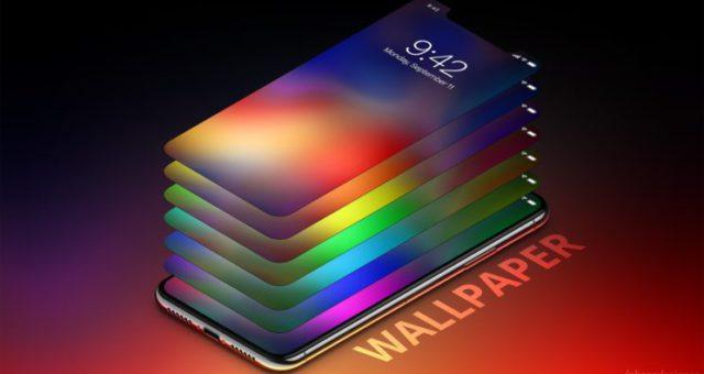iPhone X inspirované tapety