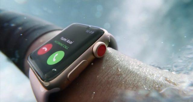 Apple oficiální představil nové Apple Watch Series 3 s připojením LTE