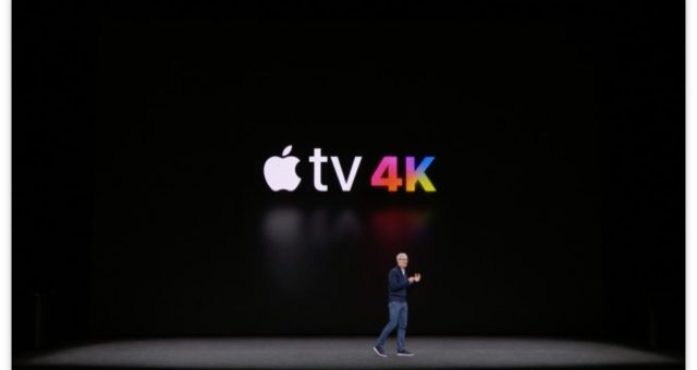 Představení AppleTV 4K