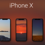 iPhone X tapety krajiny