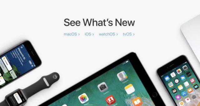 Apple vydal druhé beta verze iOS 11.1, watchOS 4.1, tvOS 11.1 a macOS 10.13.1