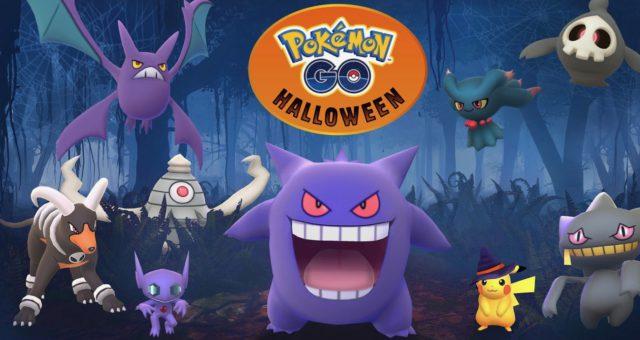 Pokémon GO přináší Hoenn Region pokémony a speciální halloweenský vzhled Pikachu