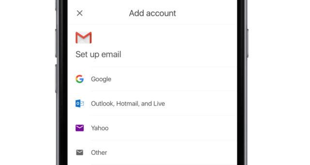 Gmail pro iOS přináší správu emailů třetích stran