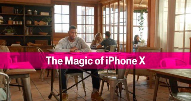 T-Mobile využil Animoji v hlavní roli své reklamy
