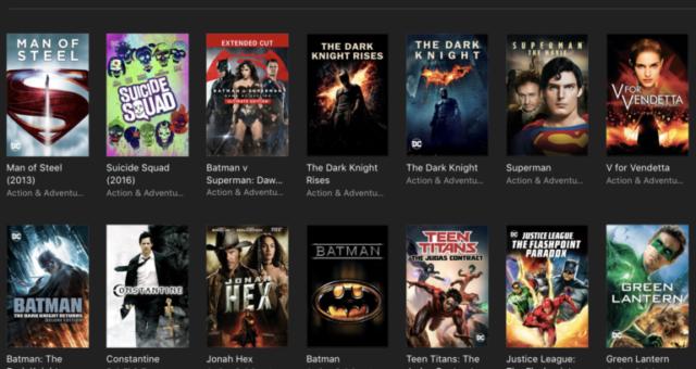 Batman, Superman a další iTunes filmy jsou nyní zlevněné