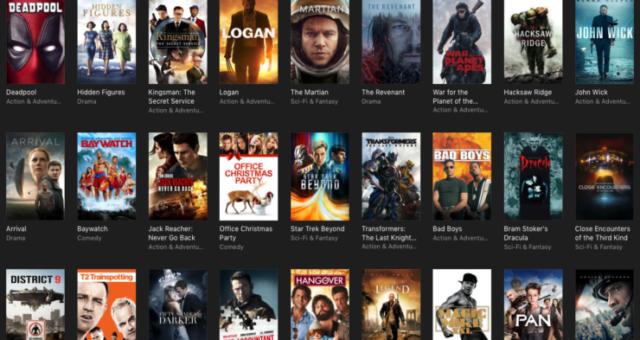 Black Friday slevy na iTunes filmy jsou tady!