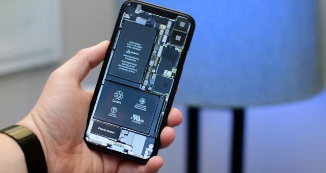 Tapety vnitřního vzhledu iPhone X