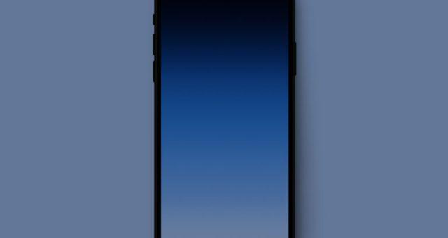 Minimální tapety, které skryjí výřez obrazovky u iPhone X