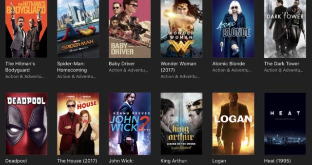 Wonder Woman, Deadpool a další iTunes filmy jsou nyní zlevněné
