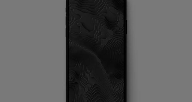 Temné geometrické tapety