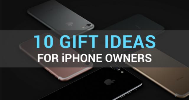 Nápady na vánoční dárky pro vlastníky iPhonů