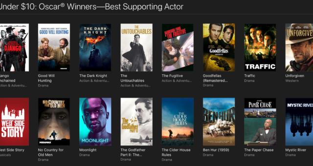Valentýnské a další iTunes filmy jsou nyní zlevněné