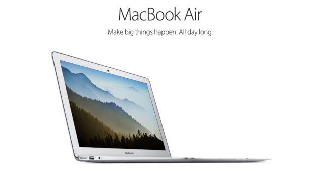 KGI: Apple vydá cenově dostupné 13-ti palcové MacBooky Air