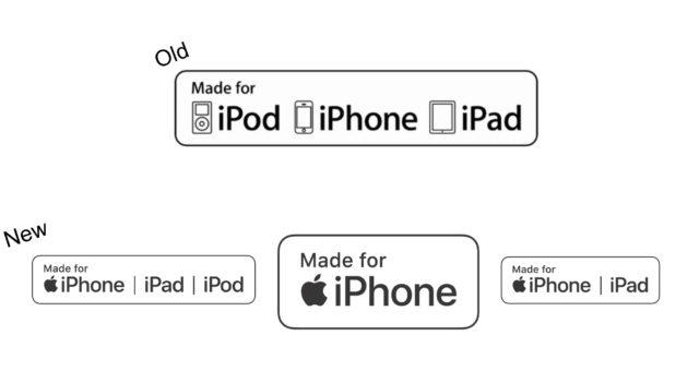 """Apple zaktualizoval design označení """"Made for iPhone"""""""