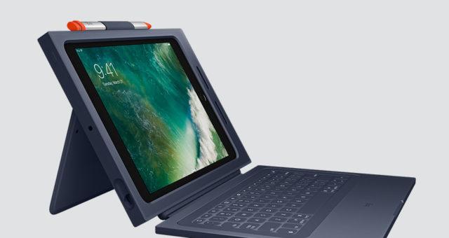 Logitech spolu s Applem představili nový Crayon stylus a Rugged Combo 2 klávesnici pro iPad