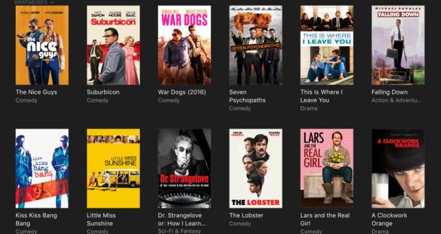 Piráti z Karibiku, Auta 3 a další iTunes filmy jsou nyní zlevněné