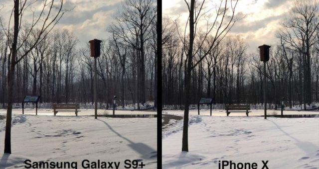 iPhone X vs. Galaxy S9+: který smartphone má lepší fotoaparát?