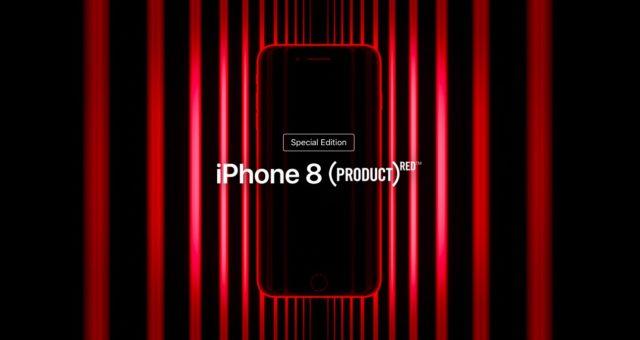Podívejte se na novou Apple reklamu představující nové modely iPhone 8 (PRODUCT)RED