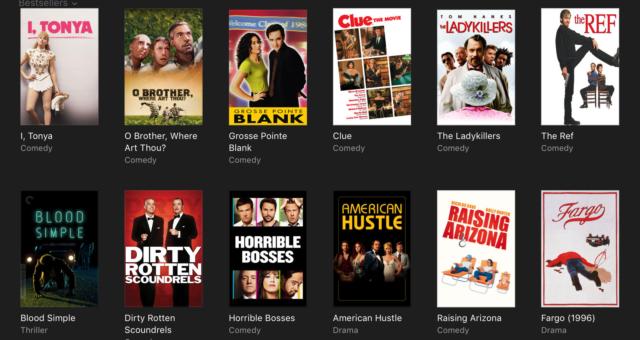 Alenka v říši divů, Doba ledová a další iTunes filmy jsou nyní zlevněné