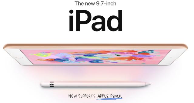 Tapety týdne: nový iPad