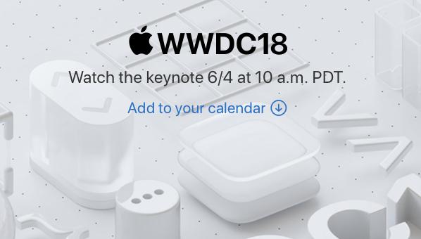 Apple potvrdil streamování nadcházející konference WWDC online