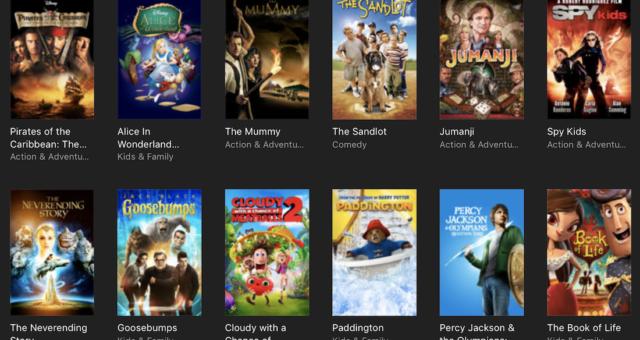 Jumanji, Paddington a další iTunes filmy jsou nyní zlevněné