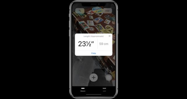 """WWDC 2018: Apple představil novou měřící aplikaci """"Measure"""""""