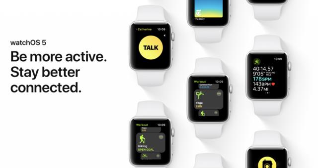 watchOS 5 nebude podporovat originální Apple Watch