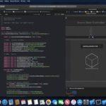 Applu uniklo video macOS 10.14, kde ukazuje Xcode 10 s Dark režimem, News aplikací a další