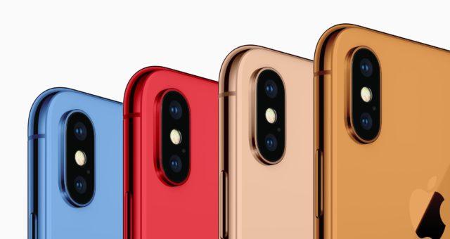 Nový iPhone by měl být k dispozici ve zlaté, šedé, bílé, modré, červené a oranžové barvě