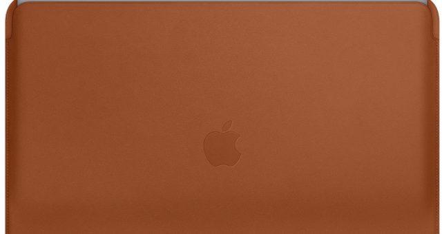 Majitelé MacBooků si konečně na své zařízení mohou zakoupit kvalitní Apple kožený obal