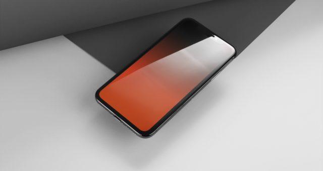Tapety bez gradientu pro iPhone X