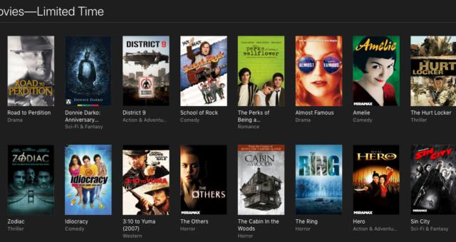 American Psycho, Hotel Rwanda a další iTunes filmy jsou nyní zlevněné