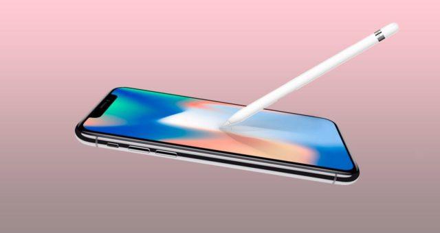 Bude nový iPhone s OLED displejem podporovat Apple Pencil?