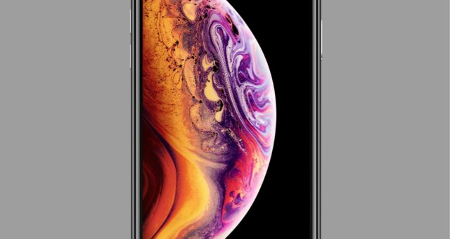 Marketingová tapeta iPhone XS