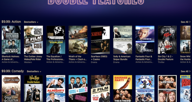 Hunger Games, Divergence a další filmy na iTunes jsou nyní zlevněné
